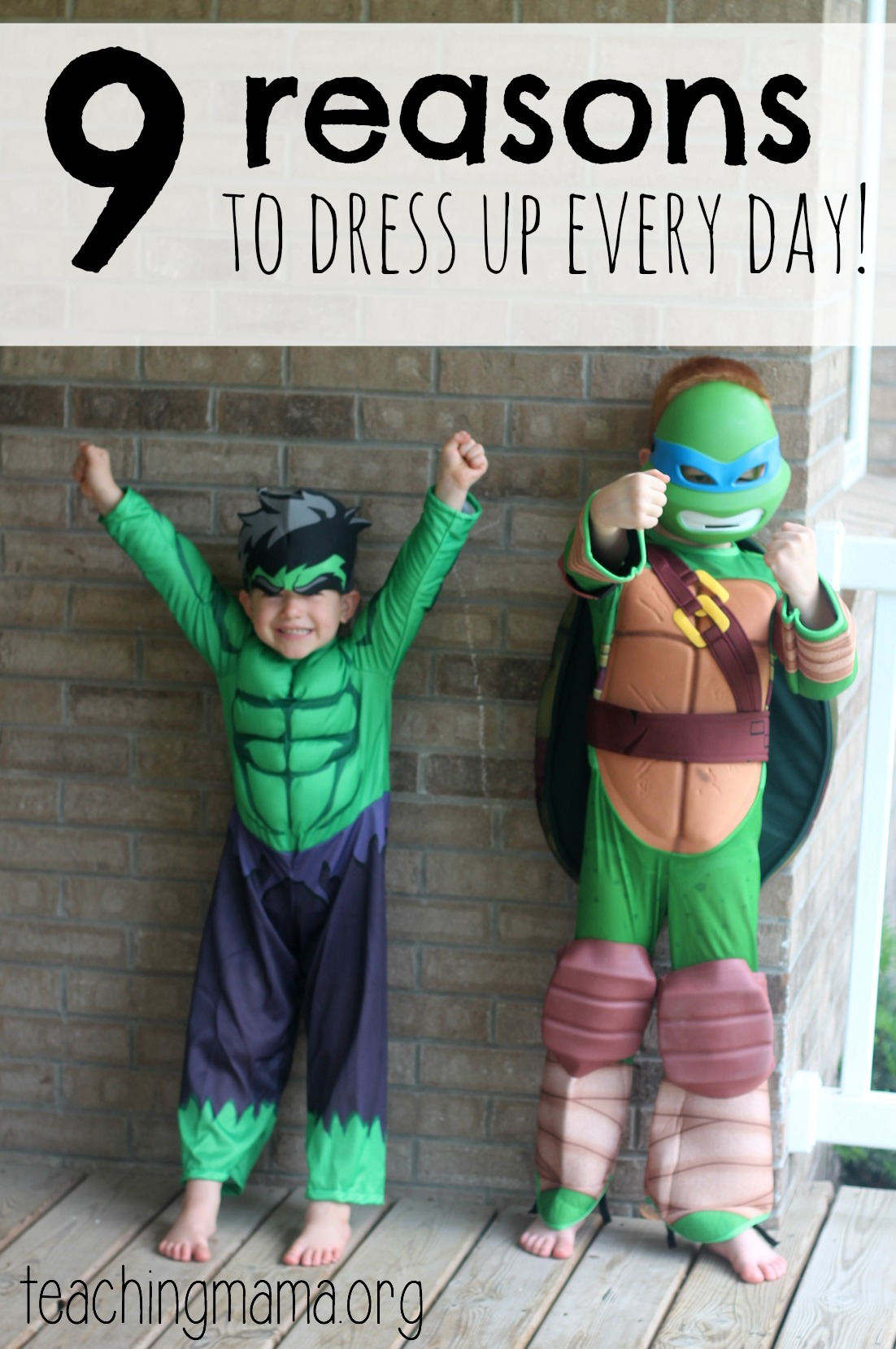 9 Reasons To Dress Up Every Day